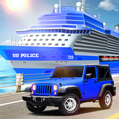 US Police Car Transport Cruise Ship Simulator 2018  Latest Version Download