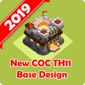 New Best COC Town Hall 11 Base Map  Latest Version Download