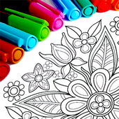 Mandala Coloring Pages 1280 Android for Windows PC & Mac