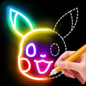 Learn to Draw Glow Cartoon  APK 1.0.9