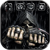 Skull Death Fist Theme 1.1.2 Android for Windows PC & Mac