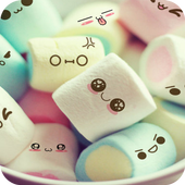 Cute Marshmallow Cartoon Theme For PC