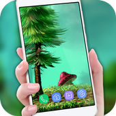 Forest Live Wallpaper 2018 HD Background Nature 3D 1.1 Android for Windows PC & Mac