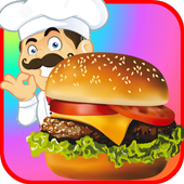 Fast Food Restaurant Burger Mania Cooking Games  For PC