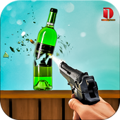 3D Shooting Games: Real Bottle Shooting Free Games