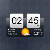 Sense Flip Clock & Weather Latest Version Download