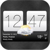 Sense V2 Flip Clock & Weather For PC