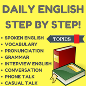 Learn English Step by Step - Spoken English App For PC