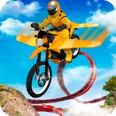 Flying Motorbike Stunts  Latest Version Download