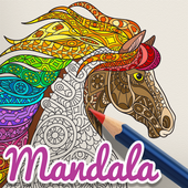 Mandala Coloring Book Free - Drawing App Kids  APK 20.18.01
