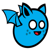 Blue Flying Bat
