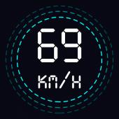 GPS Speedometer, Distance Meter For PC