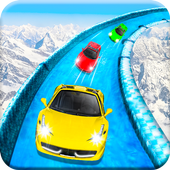 Frozen Water Slide Car Race Latest Version Download