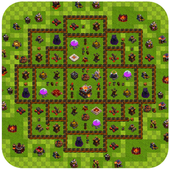 Strategies Maps for Clash of Clans