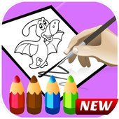 Dinosaur coloring book Educational dinosaur games  Latest Version Download