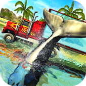 Blue Sea Whale Transport Truck Simulator  Latest Version Download