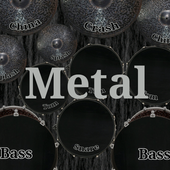 Drum kit metal 2.06