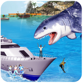 Blue whale : Angry Shark Sim 2018  Latest Version Download