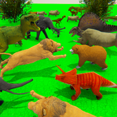 Wild Animals Kingdom Battle Simulator 2018 1.5