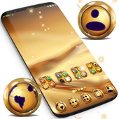 Gold Launcher Theme For Huawei  APK 1.296.1.61