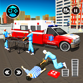 911 Ambulance City Rescue: Emergency Driving Game  Latest Version Download