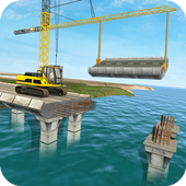 River Bridge Builds Construction: Free games 1.0