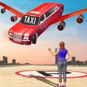 Modern Flying Car Limousine Taxi Simulator Games 1.0.1 Android for Windows PC & Mac