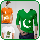 Pak Flag Shirt Photo Editor - 14 August 4.1.1 Android for Windows PC & Mac