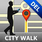 Delhi Map and Walks