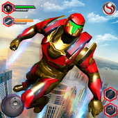 Flying Robot Grand City Rescue APK 3.1