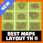 Best Maps Layout COC TH 11 1.1 Android for Windows PC & Mac