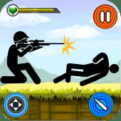 Stickman Shotgun Shooting