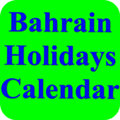 Bahrain Holidays Calendar 18.8.9 Latest Version Download