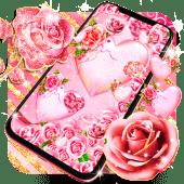 Pink rose gold live wallpaper  APK 12