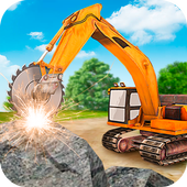 Heavy Excavator  Stone Cutter Simulator  in PC (Windows 7, 8 or 10)