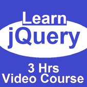 Learn jQuery  Video Course with exercise file  APK 1.0