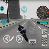 Fast Motorcycle Driver 3D  For PC