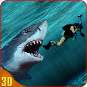 Shark Bite simulator 3D 2018  in PC (Windows 7, 8 or 10)