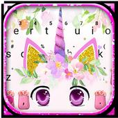Cute Unicorn Girly Keyboard Theme  APK 1.0