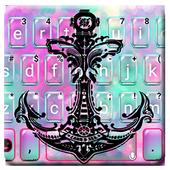 Galaxy Anchor Keyboard Theme  APK 1.0