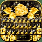 Gold Rose Lux Keyboard Theme  APK 1.0