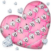 Noble Diamond Heart Keyboard Theme  APK 1.0