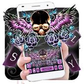 Skull Wing Tattoo Keyboard Theme  APK 1.0