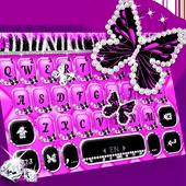 Luxury Butterfly Zebra Keyboard Theme  APK 1.0