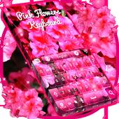 Pink Flowers Keyboard APK 1.307.1.101