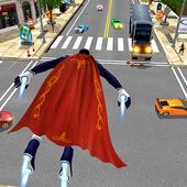 Flying Hero Iron Spider VS Mafia Fighter Adventure
