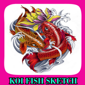 Koi Fish Sketch  Latest Version Download