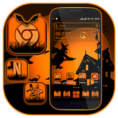 Halloween Dark Night Launcher Theme