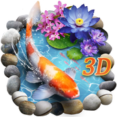 3D Koi Fish Theme & Lively 3D Ripple Effect 1.1.2 Latest Version Download