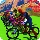 Superhero Bmx Stunt Racing 1.0